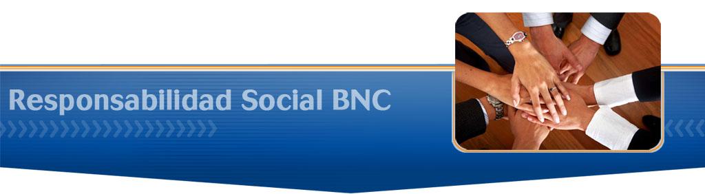 Responsabilidad Social BNC